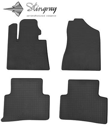 Hyundai Tucson TL 2015- Комплект из 4-х ковриков Черный в салон. Доставка по всей Украине. Оплата при получении, фото 2