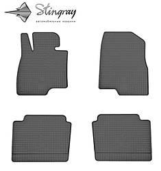 Mazda 6 2013- Комплект из 4-х ковриков Черный в салон. Доставка по всей Украине. Оплата при получении