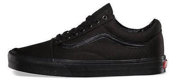 Женские кеды Vans Old Skool All Black, женские кеды, ванс. ТОП Реплика ААА класса.