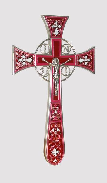 Крест Мальтийский с эмалью