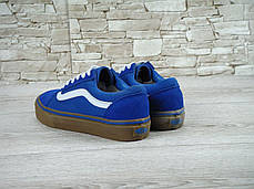 Мужские кеды Vans Old Skool Blue Gum, мужские кеды, ванс, фото 3