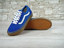 Мужские кеды Vans Old Skool Blue Gum, мужские кеды, ванс, фото 2
