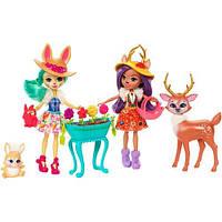 Игровой набор Волшебный сад Энчантималс  Enchantimals Garden Magic Doll Gift SetFDG01