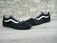 Мужские кеды Vans Old Skool Air Low Black, мужские кеды, ванс, фото 2