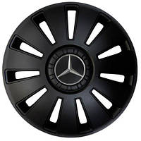 Kenguru REX Mercedes black  КОЛПАКИ ДЛЯ КОЛЕС R16 (Комплект 4 шт.)