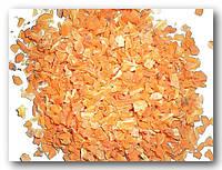 Морковь сушеная кубиками