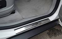 NataNiko Накладки на пороги для BMW X5 (E70) '06-13 (Комплект 4 шт.)