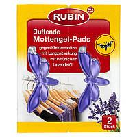 Rubin Duftende Mottengel-Pads - Защита от моли ароматные колодки Мотылек 2 шт