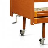 Медицинская деревянная кровать двухсекционная OSD-93, фото 2