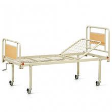 Медична двосекційна ліжко OSD93V+OSD-90V з колесами