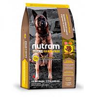 Nutram Total GF Lamb & Lentils Dog, холистик корм для собак, ягненок/бобовые, 11,34кг