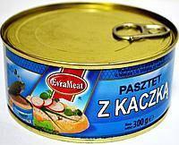 Консерва EvraMeat Meat z Kaczka (утка) Польша 300г