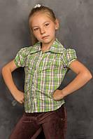 """Рубашка детская для девочки """"Кантри"""""""
