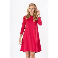 Женское платье осеннее Like (Красный)
