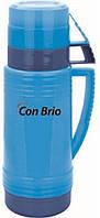 Термос 0.6л Con Brio 354CBсин