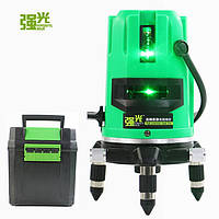 Зеленые лучи Лазерный уровень 5 линий 6 точек на 360 градусов