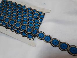 Тасьма декоративна для одягу з вишивкою