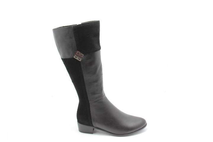 Чорні чоботи Andri-Anna A110