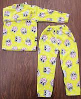 Пижама детская(махра/девочка) рост 104-122 см