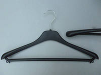 Плечики вешалки пластмассовые Marc-Th WGC42 черные, 42  см