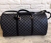 Сумка городская Louis Vuitton D2135 серо-черная