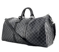 Сумка Louis Vuitton D2150 серо-черная