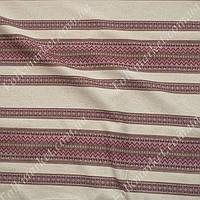 Ткань для вышиванок с украинским орнаментом Рандеву ТДК-110 1/3