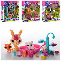 Игровой набор Pet Shop (Пет шоп)с различными животными и аксессуарами, TBG077313 (4 вида)