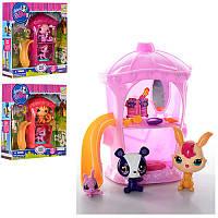 Игровой набор Pet Shop (Пет Шоп) с Домиком, сказочными животными и аксессуарами, TBG077313 (3вида).