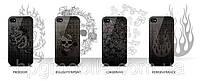Чехол для iPhone 4/4S - monCarbone Art Collection