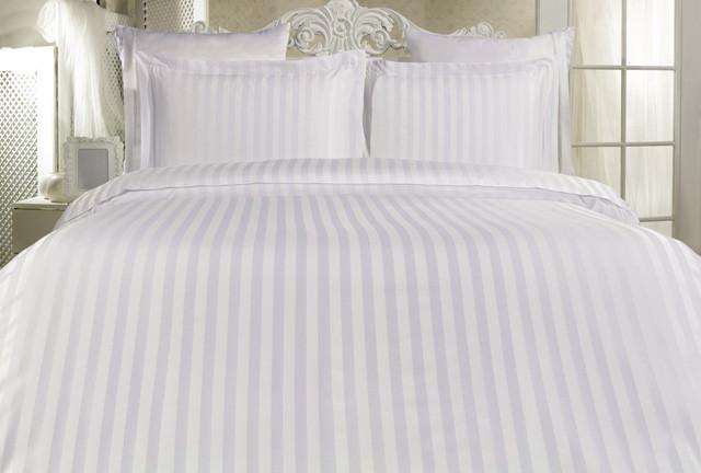постельное бельё белое фото