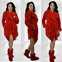 Набор халат с сапожками Модель 101, фото 1