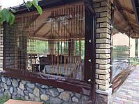 Прозрачные шторы на беседки, террасы, пристройки, веранды.
