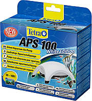 Компрессор Tetratec APS 100 для аквариума одноканальный белый