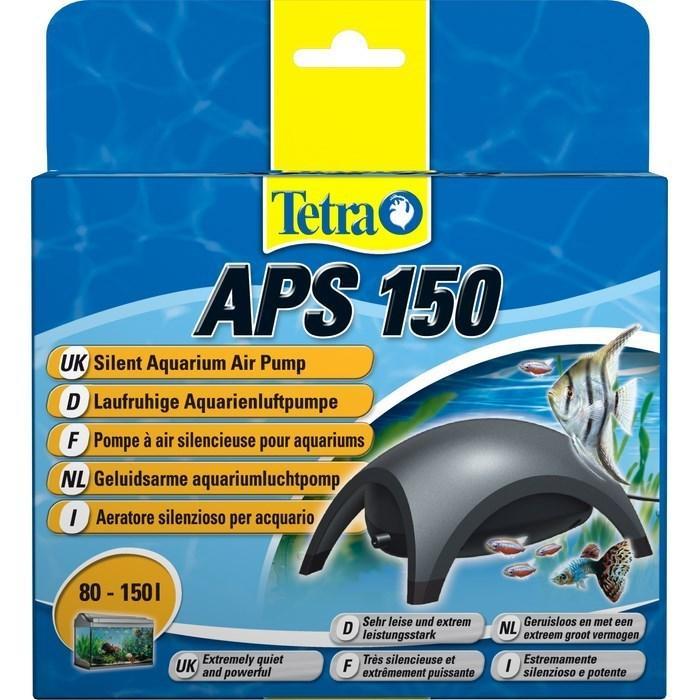 Компрессор Tetratec APS 150 для аквариума одноканальный черный - Интернет-зоомагазин Royal Zoo в Харькове