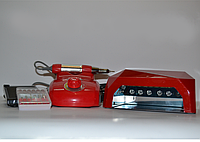 Фрезер для маникюра и педикюра Nail Master и лампа LED+CCFL 36W
