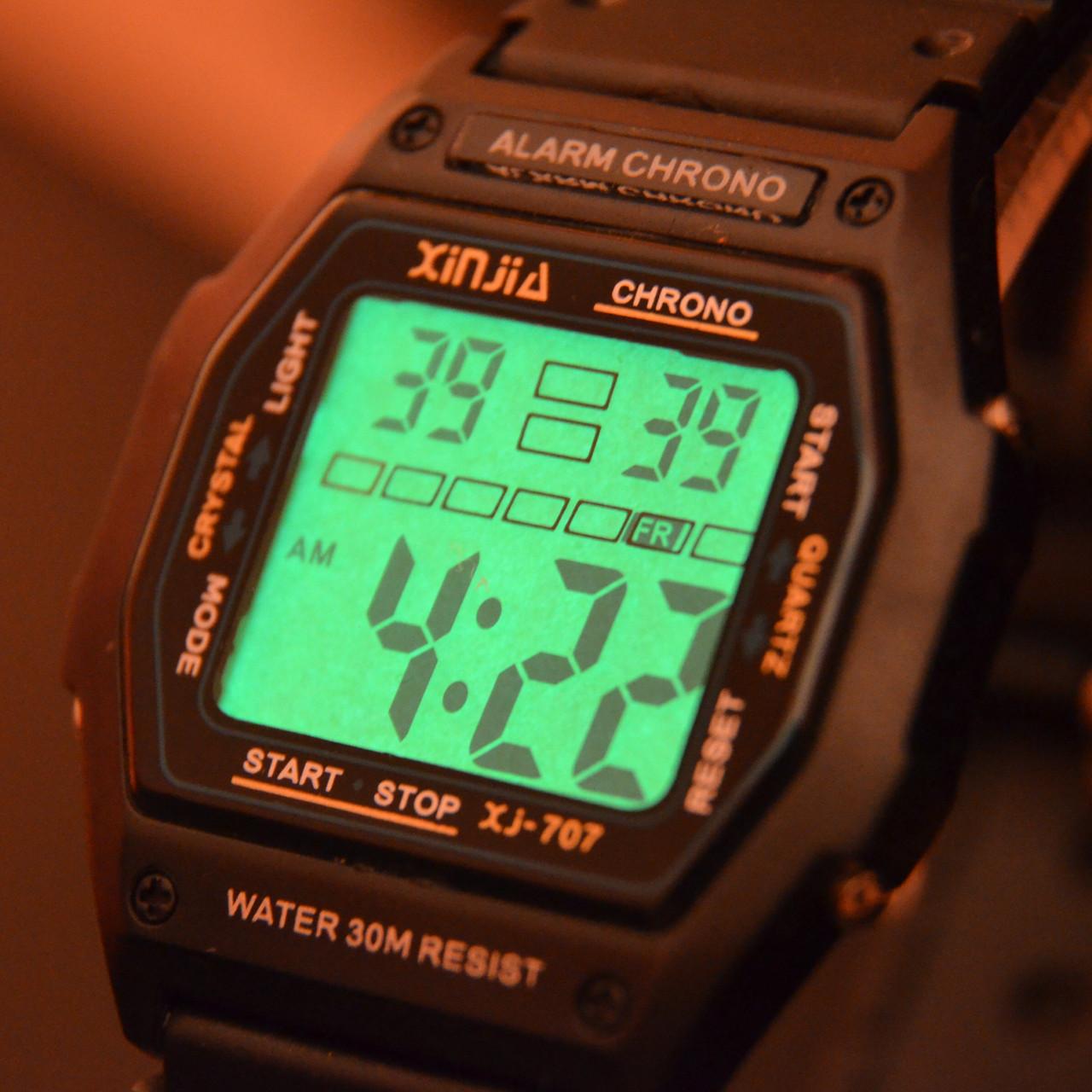 Наручные водостойкие часы Xinjia XJ-707 sport watch