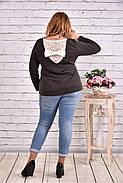 Женская блуза с вышивкой 0619 / размер 42-74 , фото 4