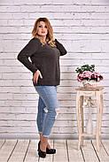 Женская блуза с вышивкой 0619 / размер 42-74 , фото 2