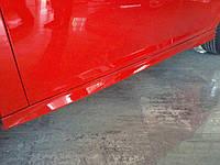 Боковые пороги под покраску Форд Фокус III 2011+ и 2015+ (2шт)