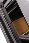 Отопительная печь-камин длительного горения AQUAFLAM VARIO KALMAR (коричневый бархат), фото 7