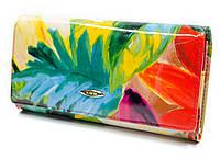 Оригинал! Стильный женский кошелек с цветочным принтом Helen Verde (Хелен Верде) 2030T