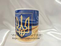 Печать символики на чашке