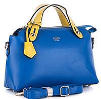 Женская сумка клатч 6831-1 blue-yellow брендовые сумки, брендовые клатчи недорого в Одессе