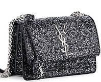 Женская сумка клатч 822-1 black-white брендовые сумки, брендовые клатчи недорого в Одессе