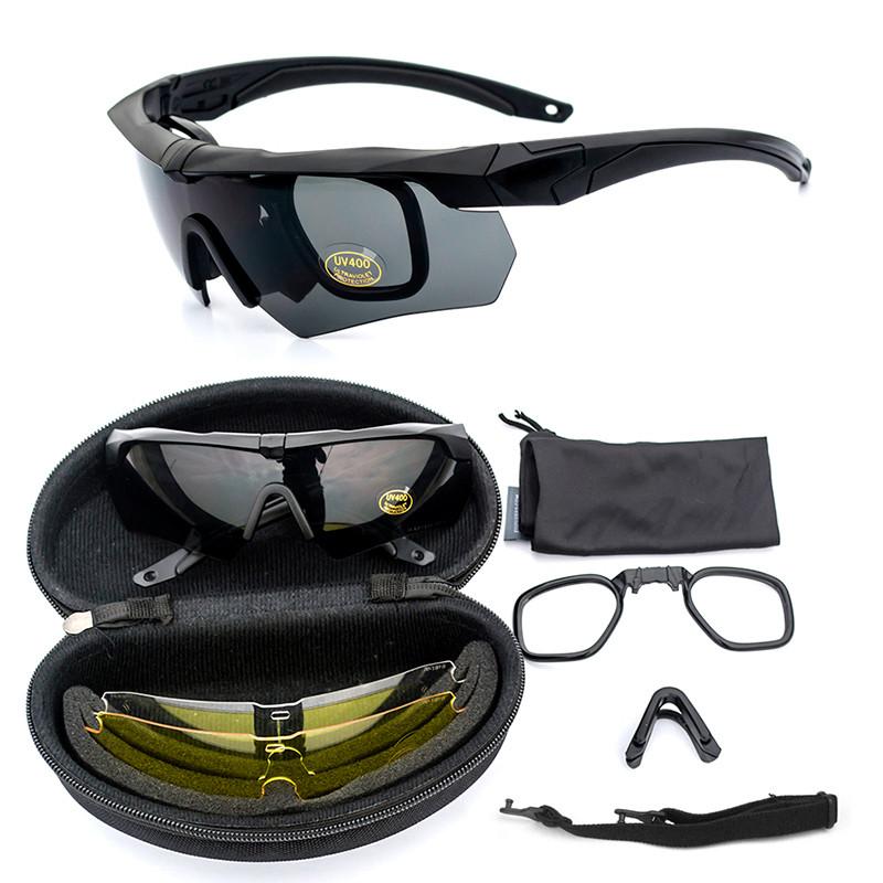 Тактические очки  ESS Crossbow  (черный)