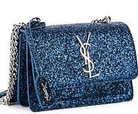 Женская сумка клатч 822-1 blue брендовые сумки, брендовые клатчи недорого в Одессе