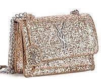 Женская сумка клатч 822-1 gold брендовые сумки, брендовые клатчи недорого в Одессе