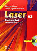 Laser 3rd Edition A2 Student's Book + CD-ROM