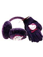 Наушники теплые и перчатки для девочек Франция
